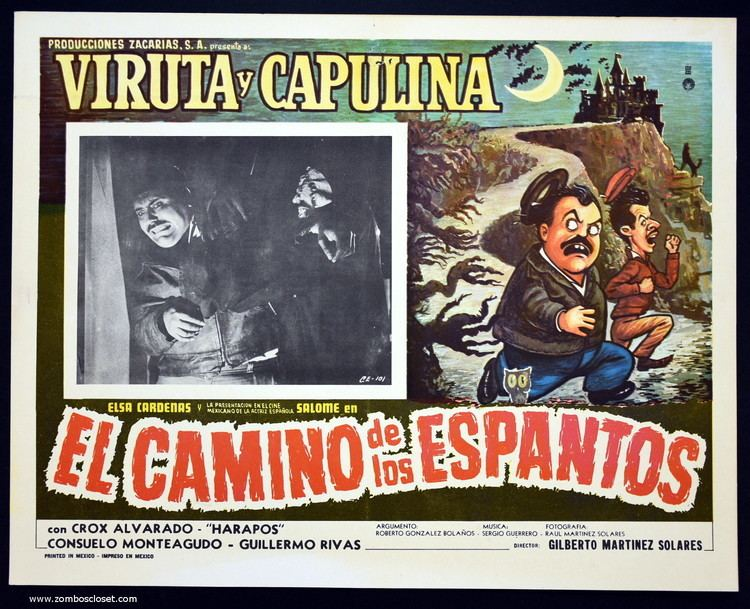 El camino de los espantos El Camino De Los Espantos 1967 Mexican Lobby Card From Zombos