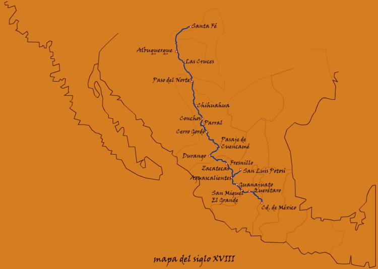El Camino Real de Tierra Adentro El Camino Real de Tierra Adentro Asociacin de Amigos del Museo de