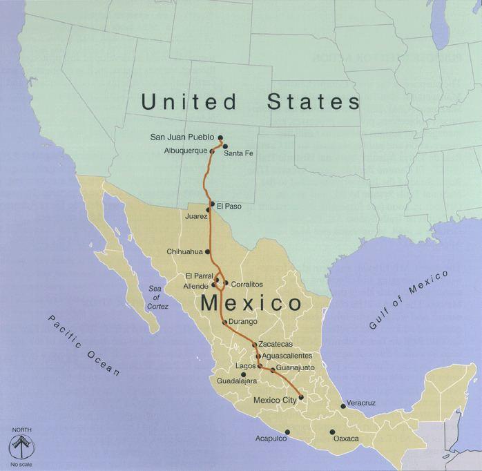 El Camino Real de Tierra Adentro El Camino Real de Tierra Adentro Wikipedia