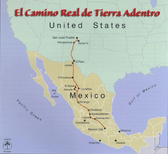 El Camino Real de Tierra Adentro Jorge Snchez Viajero El Camino Real de Tierra Adentro