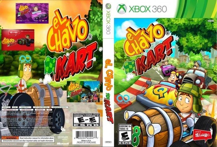 El Chavo Kart El Chavo Kart Xbox 360 Box Art Cover by Juan666