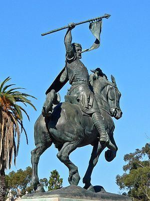 El Cid Campeador (sculpture) httpsuploadwikimediaorgwikipediacommonsthu