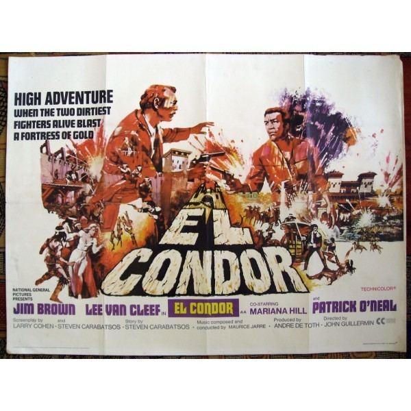 El Condor (film) El Condor 1970 Original British Quad