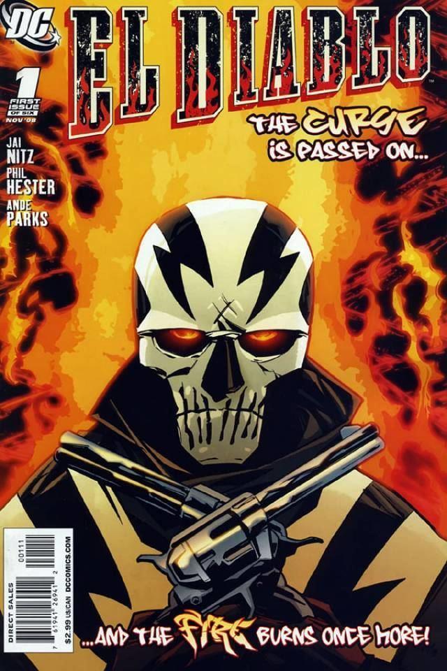 El Diablo (comics) El Diablo Santana Character Comic Vine
