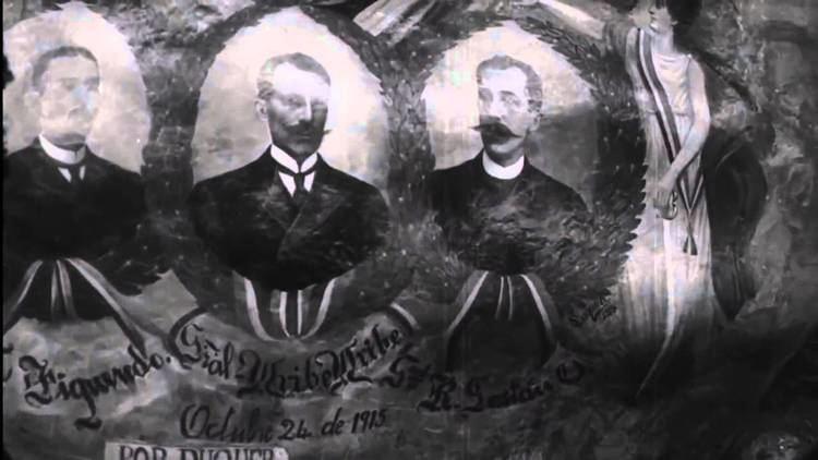 El drama del 15 de octubre El drama del quince de octubre 1915 Primer pelicula Colombiana