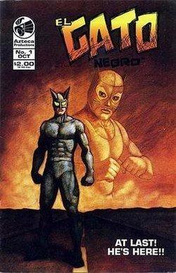 El Gato Negro (comic book) httpsuploadwikimediaorgwikipediaenthumb5
