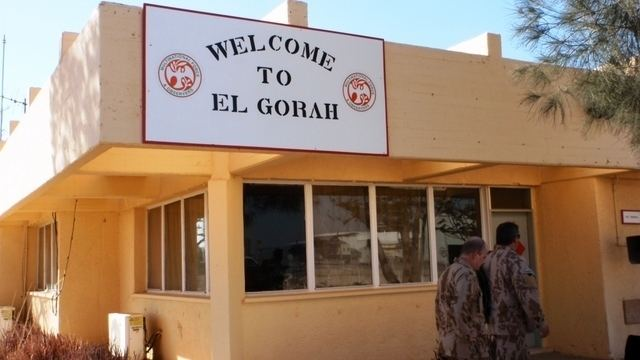 El Gorah MFO Commander Czechs carry out good work in the Sinai Ministry of