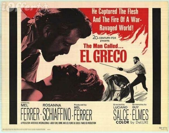 El Greco (1966 film) EL GRECO1966DVD for sale