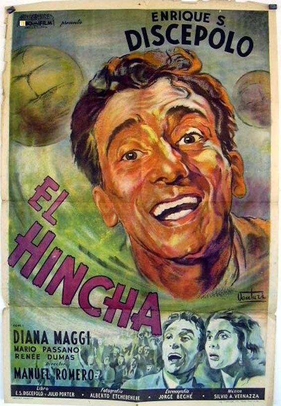 El Hincha El hincha con Discpolo rea18