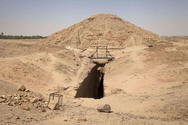 El-Kurru El Kurru Royal Cemetery Kurru Travel Story and Pictures from Sudan