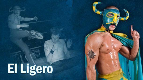 El Ligero El Ligero Premier British Wrestling