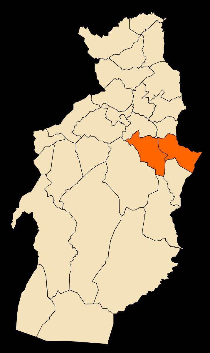 El Ma Labiodh District