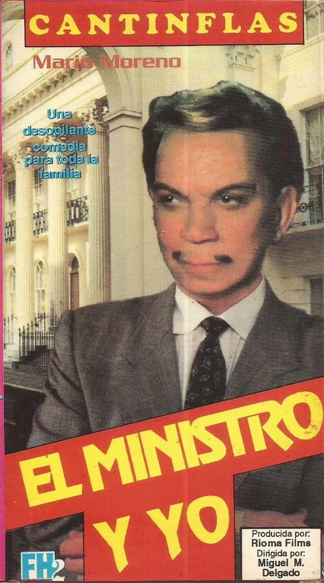 El ministro y yo Cantinflas El Ministro Y Yo Mario Moreno Calia Castro Vhs 6000