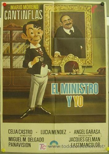 El ministro y yo fe47 el ministro y yo cantinflas mac poster ori Comprar Carteles y