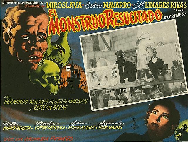 El Monstruo resucitado The Hitless Wonder Movie Blog EL MONSTRUO RESUCITADO