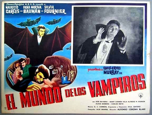 El mundo de los vampiros The World of the Vampires 1961 HORRORPEDIA