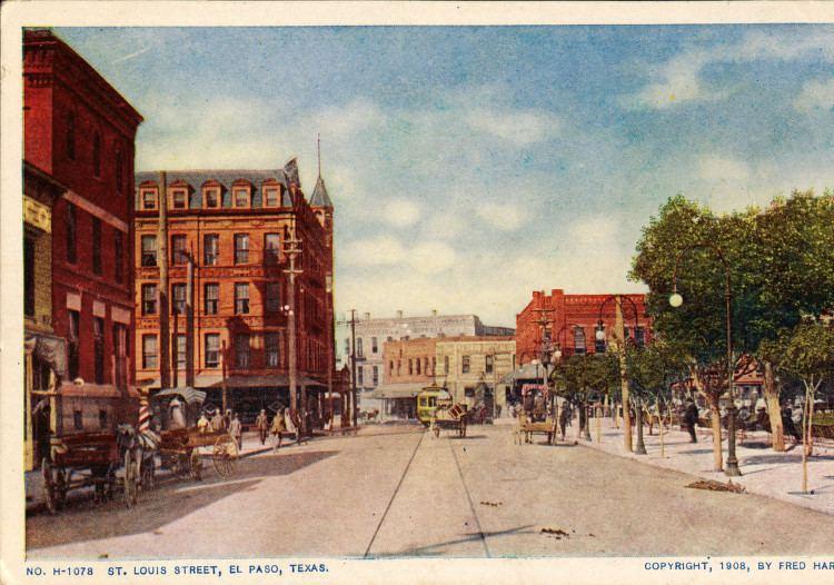 El Paso, Texas in the past, History of El Paso, Texas