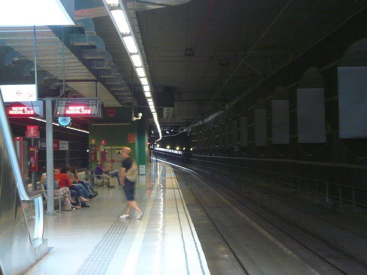 El Prat de Llobregat railway station