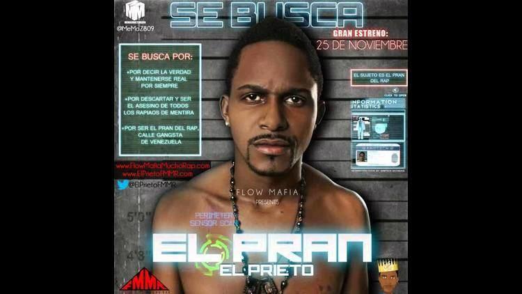 El Prieto EL PRIETO EL PRAN SENCILLO OFICIAL 2012 YouTube