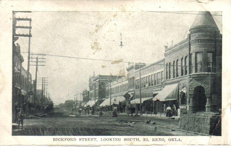 El Reno, Oklahoma in the past, History of El Reno, Oklahoma