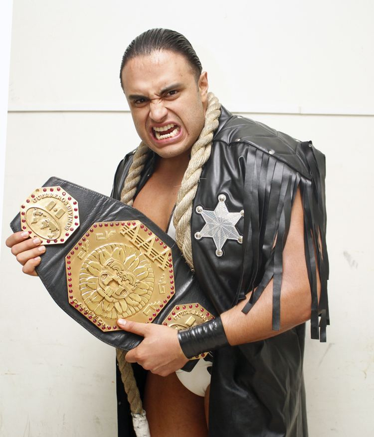 El Texano Jr. Kianna Fury39s Wrestling Wrestler of the Day 917 El