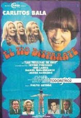 El Tío Disparate Afiche El Tio Disparate Carlitos Bala Palito Ortega 1978 79625