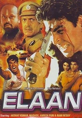 Elaan 1994 Movie on Zee Cinema Elaan 1994 Movie Schedule Songs