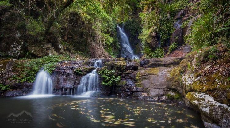 Elabana Falls Elabana Falls Cascade Waterfall in Lamington National Park