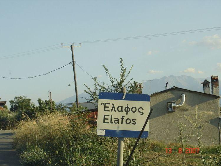 Elafos, Pieria