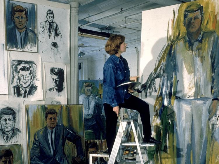 Elaine de Kooning For Artist Elaine De Kooning Painting Was A Verb Not A
