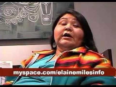 Elaine Miles elaine miles ready to pow wow YouTube