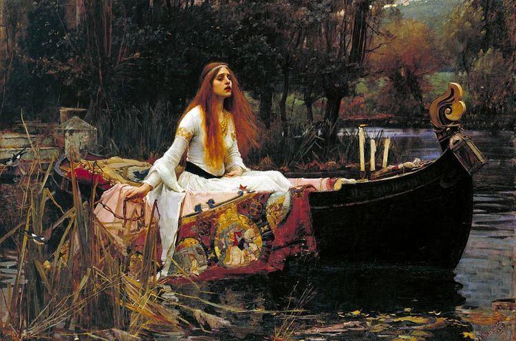 Elaine of Astolat The Arthurian Tale of Elaine of Astolat Lady of Shalott Ancient
