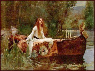 Elaine of Astolat Legends King Arthur Lady of Shallott