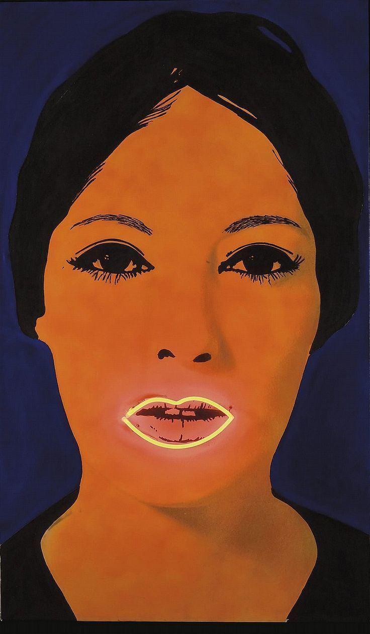 Elaine Sturtevant Elaine Sturtevant quotHigh Voltage Raysse Paintingquot Art