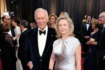 Elaine Taylor (actress) Winner Christopher Plummer Thanks Wife Elaine Taylor at