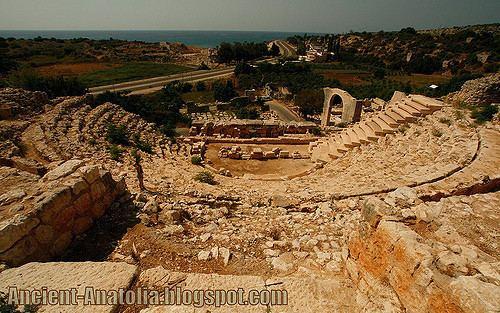 Elaiussa Sebaste Elaiussa Sebaste Archaeological excavations of the theater Flickr