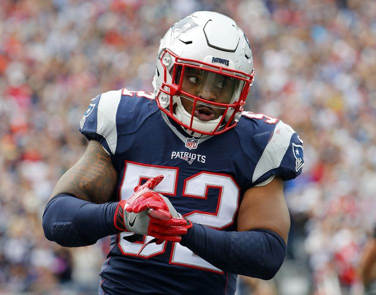 Elandon Roberts New England Patriots rookie LB Elandon Roberts might be another Bill