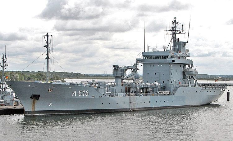 Elbe-class replenishment ship