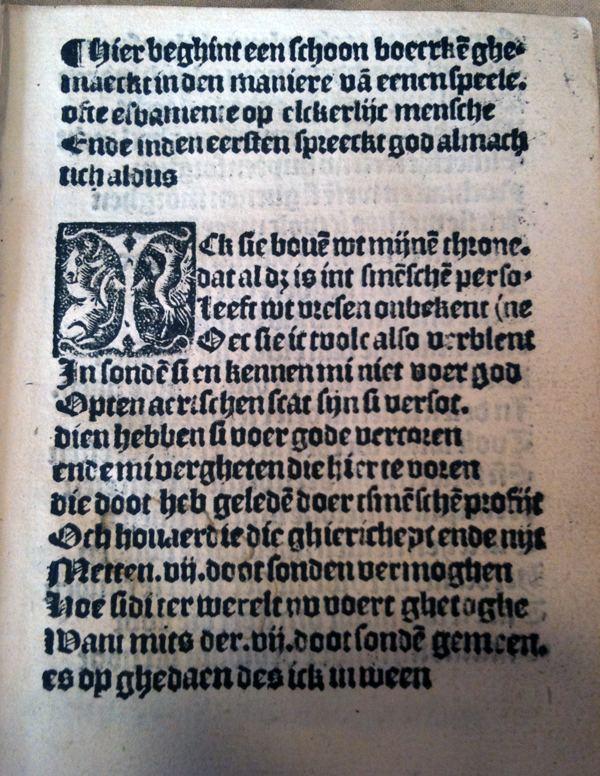 Elckerlijc Elckerlijc ca 1525