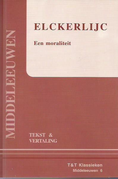 Elckerlijc Elckerlijc BoekenPlatformnl