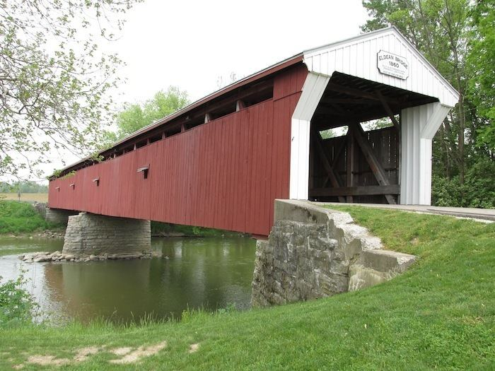 Eldean Covered Bridge Ohio Inland Crossing