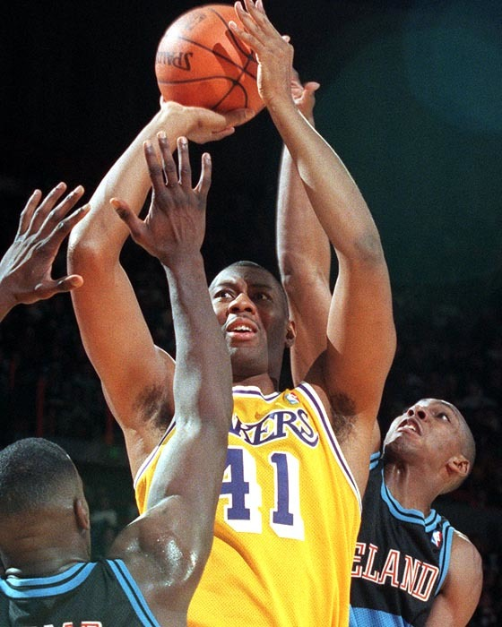 Elden Campbell Elden Campbell All Things Lakers Los Angeles Times