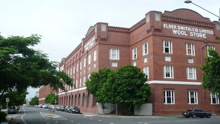 Elder Smith Woolstore, Teneriffe