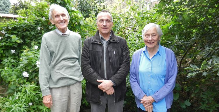 Eldryd Parry With Sir Eldryd Parry and Lady Helen Parry in London Diospi Suyana