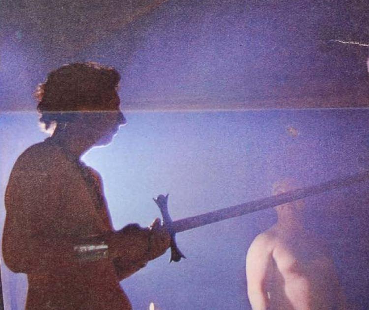 Eleanor Bone Eleanor Bone holding sword Wicca Pinterest Sword and Occult