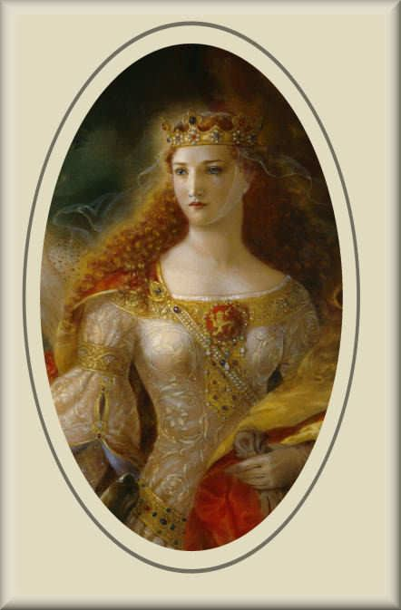 Eleanor of Aquitaine Turquoise Moon History in France part 1 Eleanor of