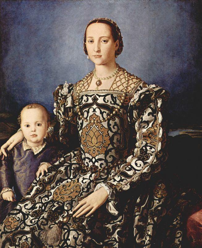 Eleanor of Toledo Eleonora of Toledo with her son Giovanni de39 Medici