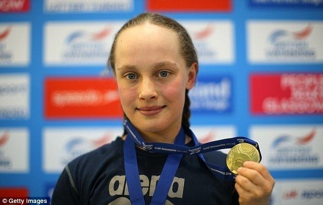 Eleanor Robinson (swimmer) Ellie Robinson qualifies for Rio Paralympics after breaking S6 50m