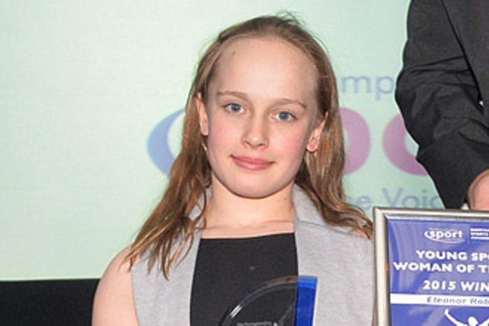 Eleanor Robinson (swimmer) Northampton swimmer Robinson breaks Games record as she strikes