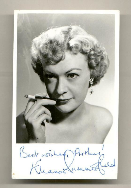 Eleanor Summerfield Clickautographs autographs Eleanor Summerfield